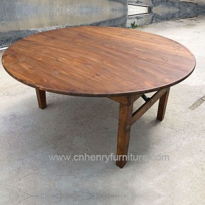 Round Farm Table