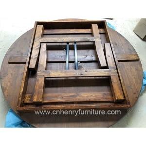 Round Farm Table