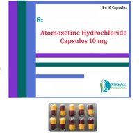 ATOMOXETINE HYDROCHLORIDE CAPSULES 10 MG