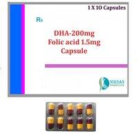 DHA-200MG FOLIC ACID 1.5MG CAPSULE