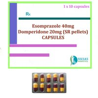 ESOMPRAZOLE 40MG DOMPERIDONE 20MG (SR PELLETS) CAPSULES