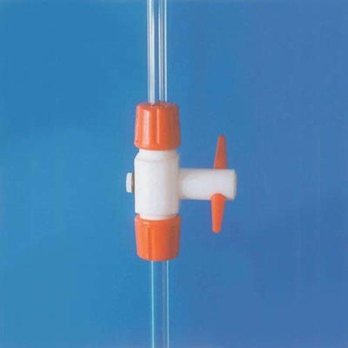 Stopcock For Aspirator, Glass, 4mm Bore,Plain