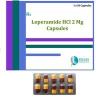 LOPERAMIDE HCL 2 MG CAPSULE