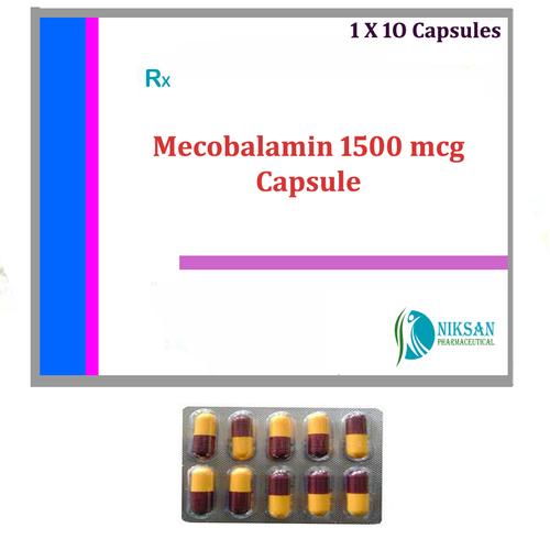 Mecobalamin 1500 Mcg Capsule
