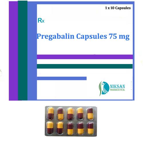 Pregabalin Capsules 75 Mg