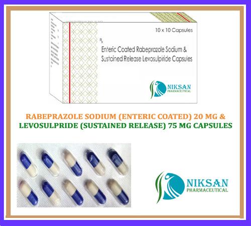 Rabeprazole Sodium (Ec) Levosulpride (Sr) Capsules