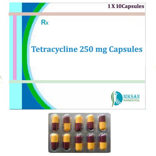 Tetracycline 250 Mg Capsules