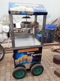 Trolley Popcorn Machine