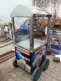 Trolley Popcorn Machine