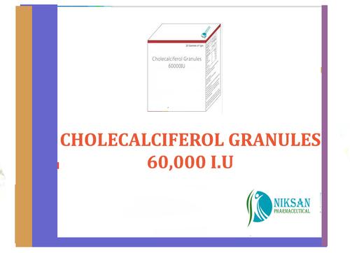 Cholecalciferol Granules 60,000 I.U