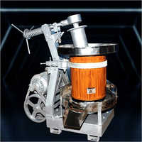 Single Phase Marachekku Wooden Oil Extraction Machine