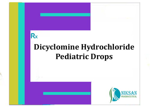Dicyclomine Hydrochloride Pediatric Drops