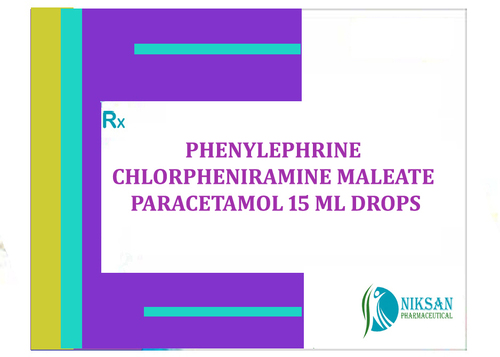 PHENYLEPHRINE CHLORPHENIRAMINE MALEATE PARACETAMOL DROPS