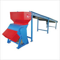 Single Shaft Municipal Solid Waste Shredder