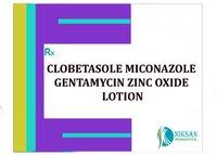 Clobetasole Miconazole Gentamycin Zinc Oxide Lotion