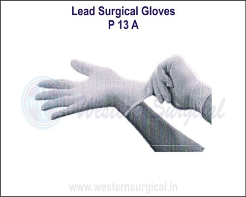 Lead Surgical Gloves