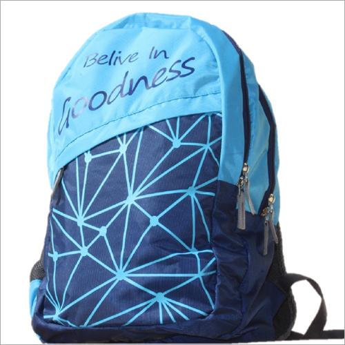Printed School Backpack