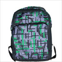 Printed College Backpack
