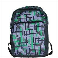 Printed College Backpack