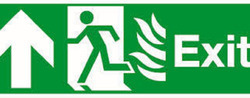 FIRE ESCAPE EXIT SIGN LIGHT