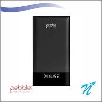 Pebble Powerbank 6000 mAh Power Bank Black