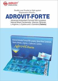 Advanced Antioxidant Formula with Lycopene, Natural Mixed Carotenoids, Vitamins, Minerals, L-Argine, L-Cyctine & L-Carnitine Tablets