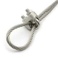 Stainless steel wire rope clamp Wire rope clip clamp wire rope loop clamp