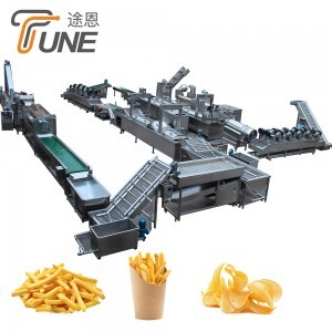 H Patatos Frozen French Frie Automatic Line