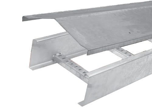 GI Cable Tray Slope Type Cover