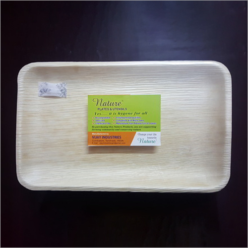 Biodegradable Disposable Areca Tray Plate