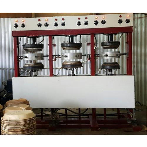 6 Dies Automatic Areca Leaf Plate Making Machine