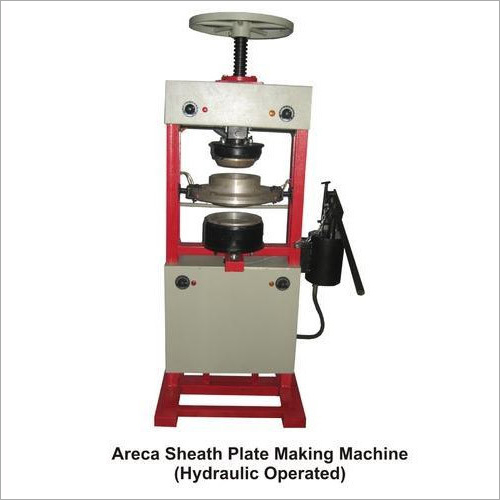Hydraulic Operated Areca Sheath Plate Making Machine