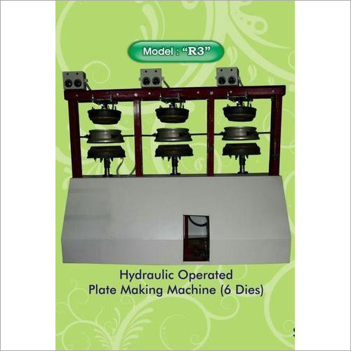 R3 Hydraulic Operated Plate Making Machine