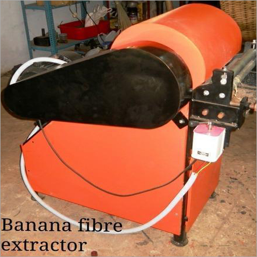 Automatic Banana Fiber Extracting Machine