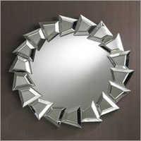 Round Border Mirror