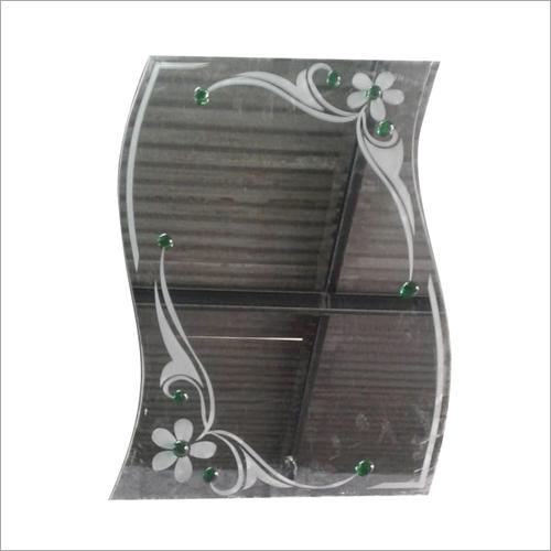 Modern Glass Wash Basin Mirror
