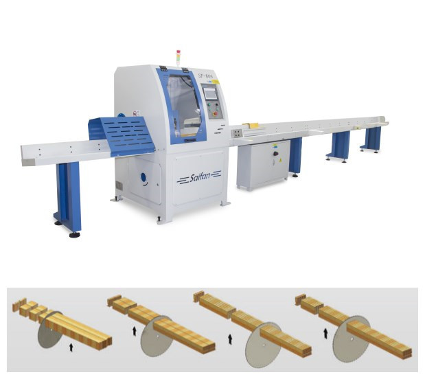 Timber Automatic Cut Off Saw Machine
