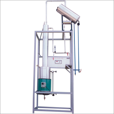 Packed Column Distillation Setup