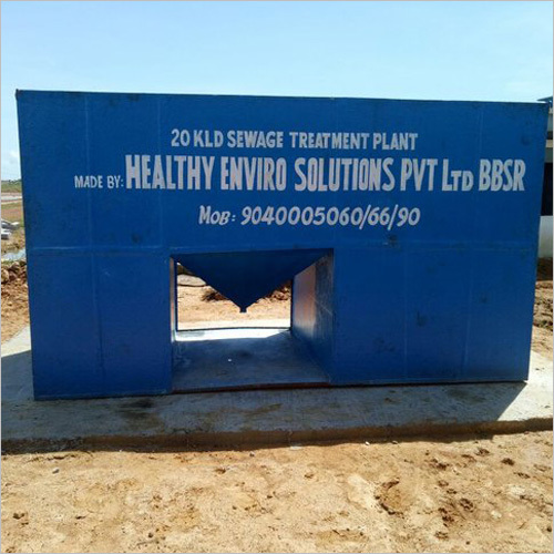 Prefabricated Sewage Treatment Plant