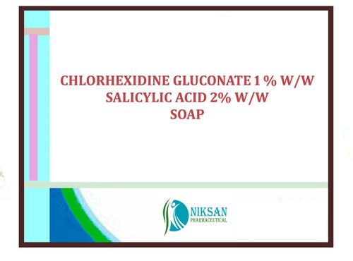 Chlorhexidine Gluconate Salicylic Acid Soap