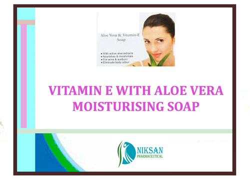 VITAMIN E WITH ALOE VERA MOISTURISING SOAP