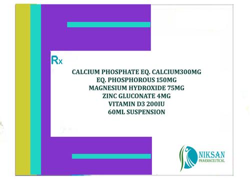CALCIUM CARBONATE MAGNESIUM ZINC VITAMIN D3 SUSPENSION