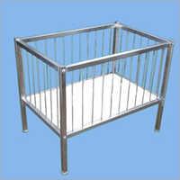 Stainless Steel Garment Basket