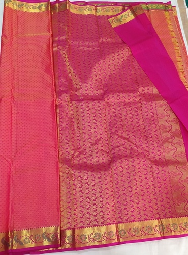 Pure Silk Little Border Sarees