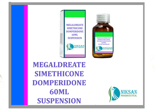 MEGALDREATE SIMETHICONE DOMPERIDONE SUSPENSION