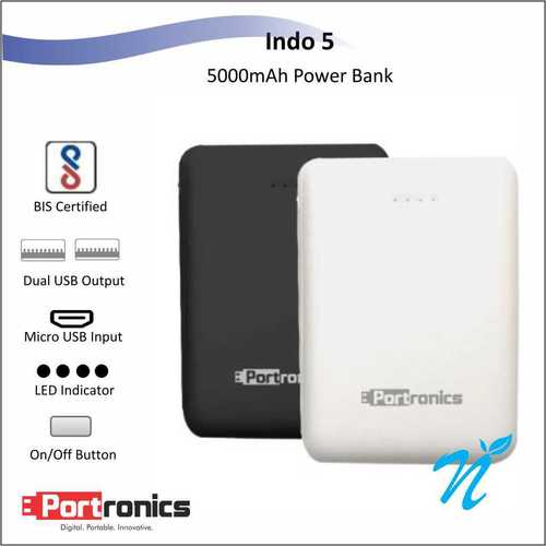 Portronics Indo 5 White