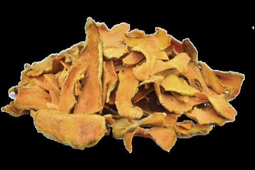 Turmeric Root Chips, Curcuma Longa, Haldi
