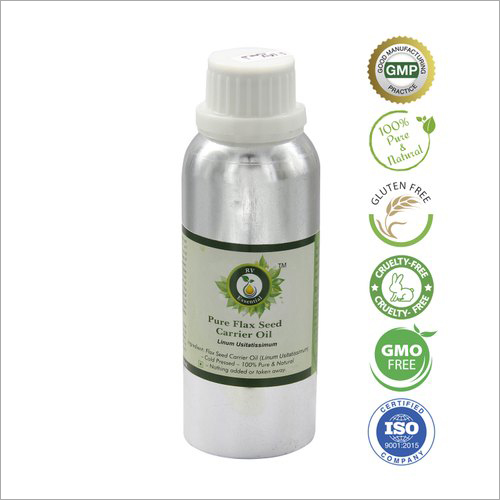 Pure Flax Seed Carrier Oil