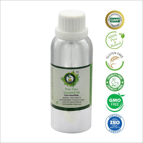Lime Oil Pure Lime Essential Oil Citrus Aurantifolia 100% Pure and Natural Steam Distilled