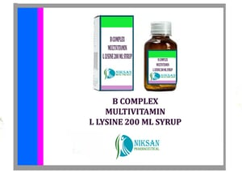 B Complex Multivitamin With L Lysine Syrup